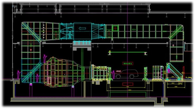 Euro tunnel duct of steel structures design, fabrication & methodist