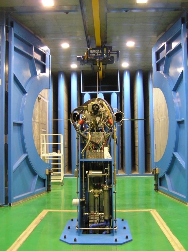 PT6A-62 engine test cell (Korea Air Force)