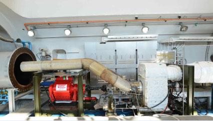 PT6A-67 Engine Performance Tests equipment in medium altitude