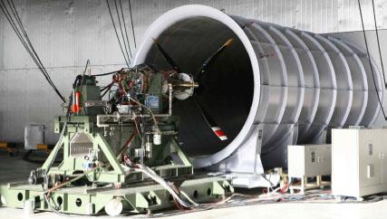 PT6A-67  Engine performance ground-test facility